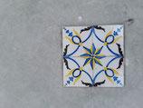 Lot de 4 Anciens Carreaux Fourmaintraux Frères Réf AB59  11cm ×11cm