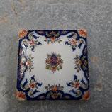 Superbe carrelage Fourmaitraux Hornoy Desvres dimensions 16 × 16 cm    référence x2