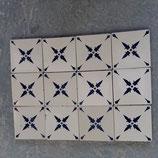 Ancien Carreau Faience de Desvres dimensions 11×11cm Lot de 12 Carreaux