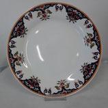 Ménagère  Assiette Plate  Décor Rouen Faience de Desvres diamètre 24 cm