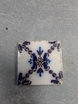 Ancien Carreau Desvres dimensions 11cm×11cm référence 0018