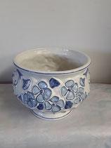Cache Pot Faience de Desvres diamètre 23 cm hauteur 20 cm