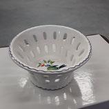 Petite Coupe à Fruits ou autre Faience de Desvres diamètre 12,5 cm hauteur 6,5 cm Décor à L oiseau