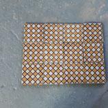Lot De 12 Carreaux Ancien Desvres refJK dimensions 11 ×11 cm
