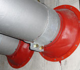 EUROFLEX BRANDSCHUTZKOMPENSATOR nach VKF Brandschutzanwendung