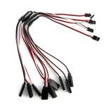 4 Stück Servo Y-Kabel 50 cm für Futaba