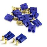 3,5 mm EC3 Goldkontaktstecker Hochstromstecker (5 Paar)