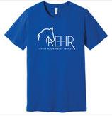Royal Blue REHR Logo T shirt