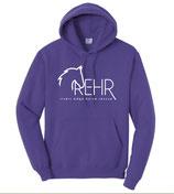Purple REHR Logo Hoodie