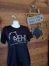 Black REHR Logo T shirt