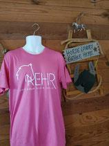 Pink REHR Logo T shirt