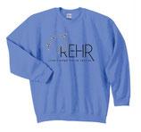 Carolina Blue REHR Logo Crew Sweatshirt