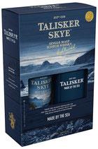 Talisker Skye Whisky 45,8% 0,7L Geschenkset mit Hip-Flask 2019