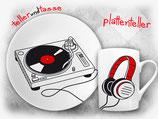 plattenteller - ein super Geschenk für Plattensammler und DJs!