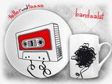 Bandsalat - Mixtape-Freunde lieben dieses Frühstücksset!