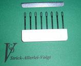 Decker / Sockenkamm / Umhängekamm  für Mittelstricker  6,5 mm Nadelabstand