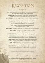 3606: Die Resolution für Männer
