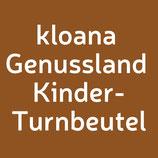 kloana Genussland OÖ Bschoad Binkerl Kinderturnbeutel