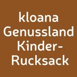 kloana Genussland OÖ Bschoad Binkerl Kinderrucksack