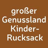 großer Genussland OÖ Bschoad Binkerl Kinderrucksack