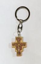 Portachiavi con croce di San Damiano