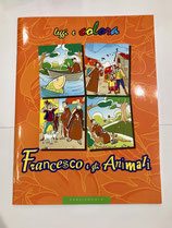 FRANCESCO e gli ANIMALI, leggi e colora