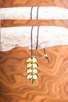 Osirispendel vergoldet