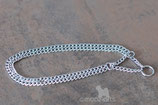 doppelte Halskette, Länge 42,5 cm