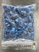Haargummis, blau