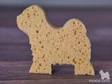 Schwamm  -individuell in Hundeform-