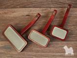 Maxi Pin Slickerbürste mit Holzkorpus
