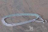doppelte Halskette, Länge 50 cm