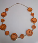 Collar CJ01 Naranja Round