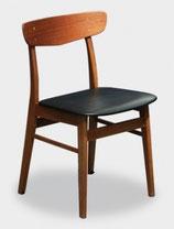1960s Chaises danoises en teck
