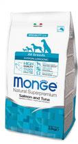 All Breeds Hypoallergenic Salmone e Tonno  Formato: 2,5 kg - 12 kg