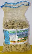 Patfrut Patate da seme prodotte da Agricoltura biologica varietà Cicero calibro 25/35 in confezione da 5 kg