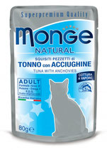 MONGE NATURAL TONNO