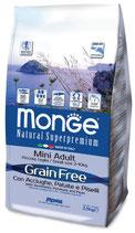 Grain Free con Acciughe, Patate e Piselli – Mini Adult  Formato: 2,5 kg