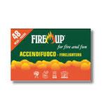 FIRE UP 48 ACCENDIFUOCO 48 PEZZI
