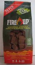 ACCENDIFUOCO FIRE-UP 72 ECOLOGICO