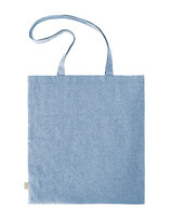 Shopper Blau meliert