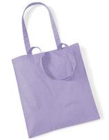 Baumwolltasche Lavendel