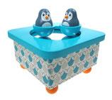 Musikdose Pinguin