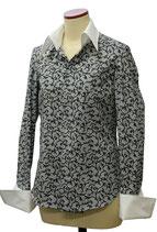 オリジナルプリントシャツ「アカンサス・ホワイト」