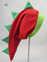 Gr. 54-56, rot, grün gestreift (DH)