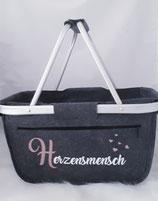 """Korb """"Herzensmensch"""""""