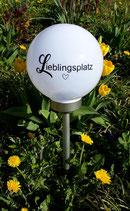 Solarlampe Lieblingsplatz