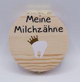 Milchzahnbox goldene Krone