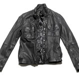 Black by K&M Lederjacke