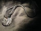 Talavera Halskette Zebramuster (rund: 4cm)